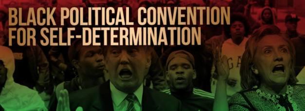black-poltical-self-determination-logo-hillary-trump