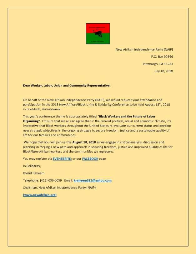 NABUS 2018 Invitational letter