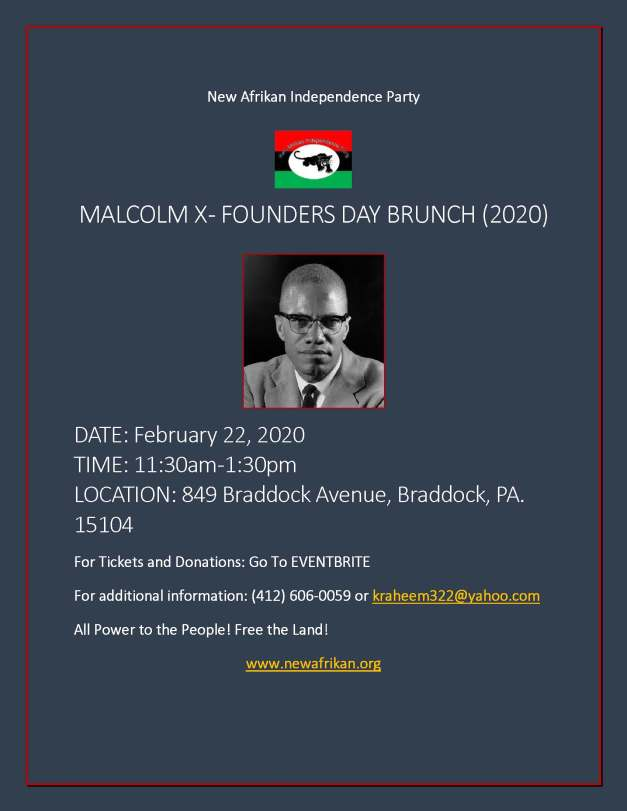 MX-Founders Day (2020) flyer